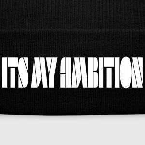 Ambition tee - Knit Cap with Cuff Print