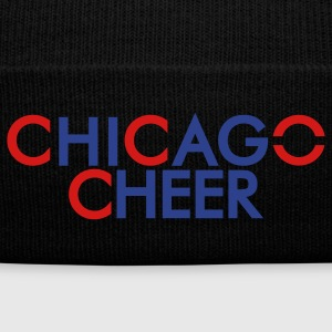 CHICAGO CHEER ( WithOut . com ) - Knit Cap with Cuff Print