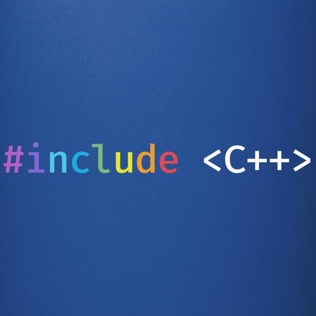 Rainbow Include C++