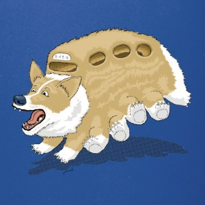 Corgbus: Jump inside for a Very Furry Ride. - Full Color Mug
