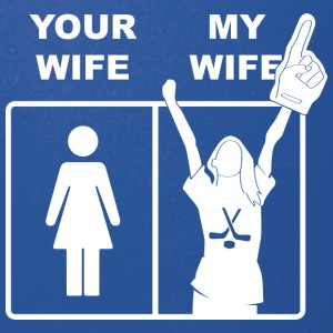Your Wife My Wife Ice Hockey - Full Color Mug