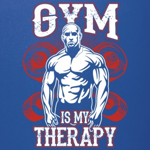 Gym Is My Therapy - Full Color Mug
