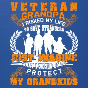 Veteran Grandpa Shirt - Full Color Mug