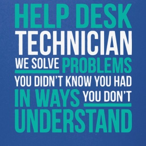 Help Desk Technician T Shirt - Full Color Mug