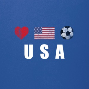 United States Football American Soccer T-shirt - Full Color Mug