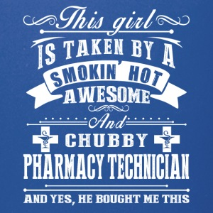 Smokin Hot Awesome Pharmacy Technician Shirt - Full Color Mug