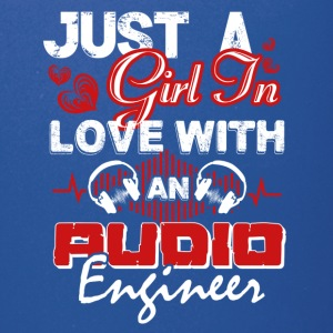 Just A Girl In Love With An Audio Engineer Shirt - Full Color Mug