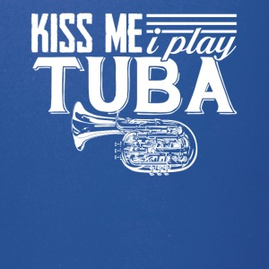I Play Tuba Tee Shirt - Full Color Mug
