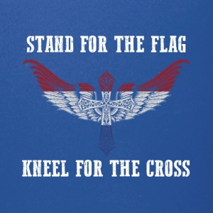 Stand for the flag Netherlands kneel for the cross - Full Color Mug