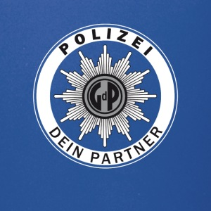 polizei Police Signet german Partner Safety Humor - Full Color Mug