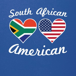South African American Flag Hearts - Full Color Mug