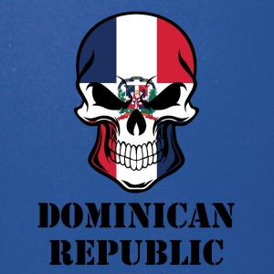 Dominican Flag Skull Dominican Republic - Full Color Mug