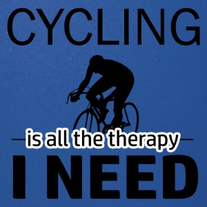 Cycling is my therapy - Full Color Mug