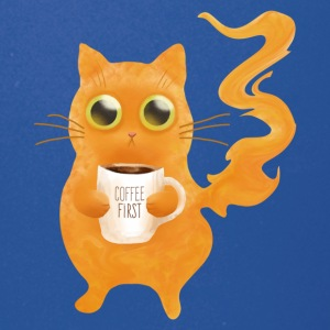 Coffee First Cat - Full Color Mug