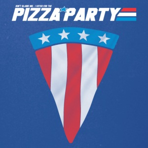Pizza Party Flag, Funny American Flag - Full Color Mug