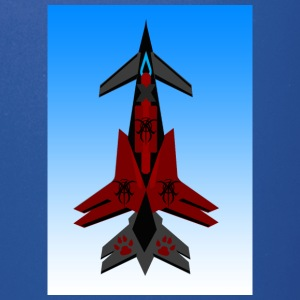 600_resol_fighter_jet_red - Full Color Mug