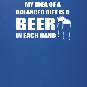 Beer drinkers Beer Diet Balance - Full Color Mug