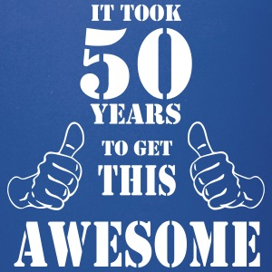 50th Birthday Get Awesome T Shirt Made in 1967 - Full Color Mug