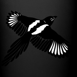Magpie with large wings. - Full Color Mug