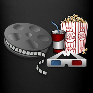 3D Cinema Movie Popcorn - Full Color Mug