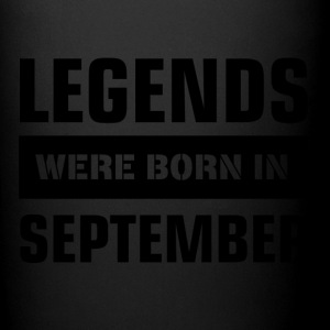 Legends were born in September - Full Color Mug