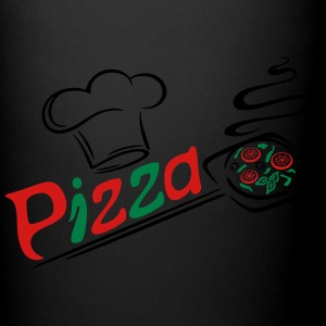 Pizza baker with cooking cap, Italian food. - Full Color Mug