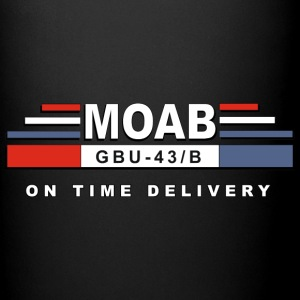 MOAB- Mother Of All Bomb - Full Color Mug
