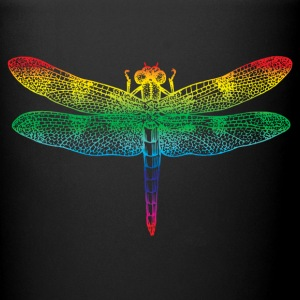 Rainbow Dragonfly - Full Color Mug