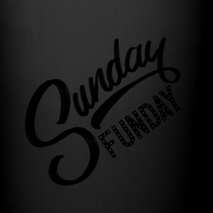 Black - Sunday Funday - Full Color Mug