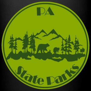 PA State Parks Bear Green - Full Color Mug