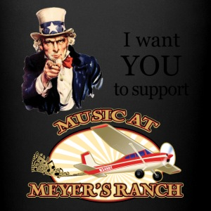 I Want You, Uncle Sam - Music at Meyer's Ranch - Full Color Mug