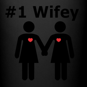 #1 Wifey lesbian interest from Bent Sentiments - Full Color Mug