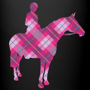 Tartan Horse & Rider - Full Color Mug