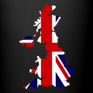British Flag Map United Kingdom Symbol - Full Color Mug