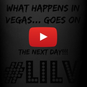 Happens in Vegas Goes on Youtube Black - Full Color Mug
