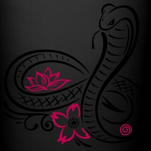 Snake with lotus flower and infinity - Full Color Mug