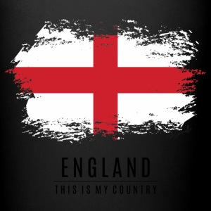 ENGLAND FLAG - THIS IS MY COUNTRY - Full Color Mug
