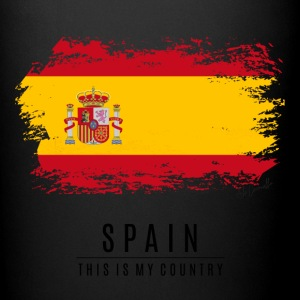 SPAIN FLAG - THIS IS MY COUNTRY - Full Color Mug
