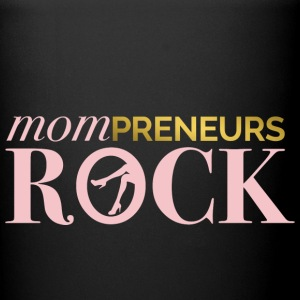 Mompreneurs Rock Logo PINK - Full Color Mug