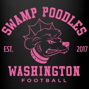 Washington Swamp Poodles - Pink Stencil - Full Color Mug