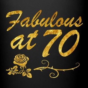 Fabulous at 70 years - Full Color Mug