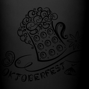 Oktoberfest decoration with traditional elements - Full Color Mug