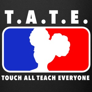 Touch All Teach Everyone Afro Puffs Tee - Full Color Mug