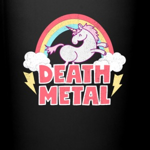Death Metal Unicorn Thunder Rainbow Clouds Unicorn - Full Color Mug