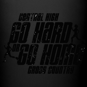 Central High Go Hard or Go Home Cross Country - Full Color Mug