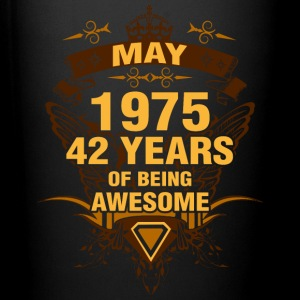May 1975 42 Years of Being Awesome - Full Color Mug