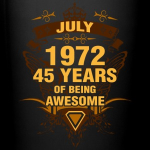 July 1972 45 Years of Being Awesome - Full Color Mug