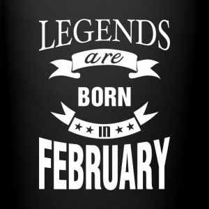 Legends are born in February - Full Color Mug