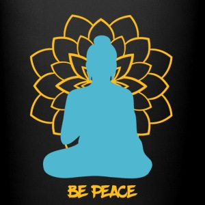 Buddhism - Be Peace - meditation Buddha. - Full Color Mug