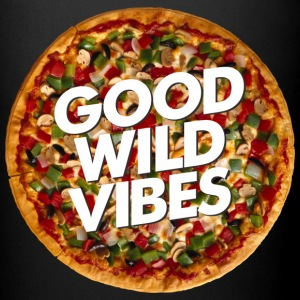 pizza good vibes - Full Color Mug